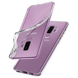 Case SPIGEN Liquid Crystal Samsung Galaxy S9 + Plus G965 Clear Case