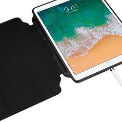 "Fold Smart Case SPIGEN ""2"" Apple Ipad 9.7 2017/2018 Black Black Case"