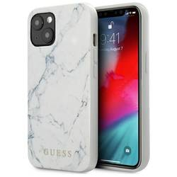 """Guess GUHCP13MPCUMAWH iPhone 13 6.1"""" white/white hardcase Marble"""