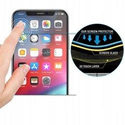 Hybrid glass HOFI Glass Flex Hybrid Pro + Iphone X / XS Black Black