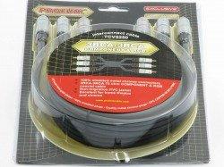 PROLINK 3xRCA - 3RCA Component Cable 0,6m TCV 5250