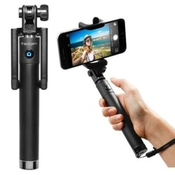 Selfie Stick SPIGEN S520 Bluetooth Black