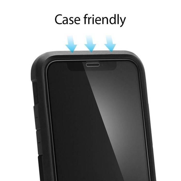 Tempered glass SPIGEN GLAS.TR Slim HD Apple iPhone 11 Pro X XS Full Cover FC
