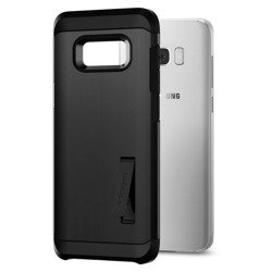 Etui SPIGEN Robuste Rüstung Samsung Galaxy S8 Schwarz + Szkło SPIGEN Fall