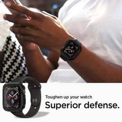 Etui SPIGEN Tough Armor Apple Watch 4 (44 mm) Schwarzes Czarne-Gehäuse