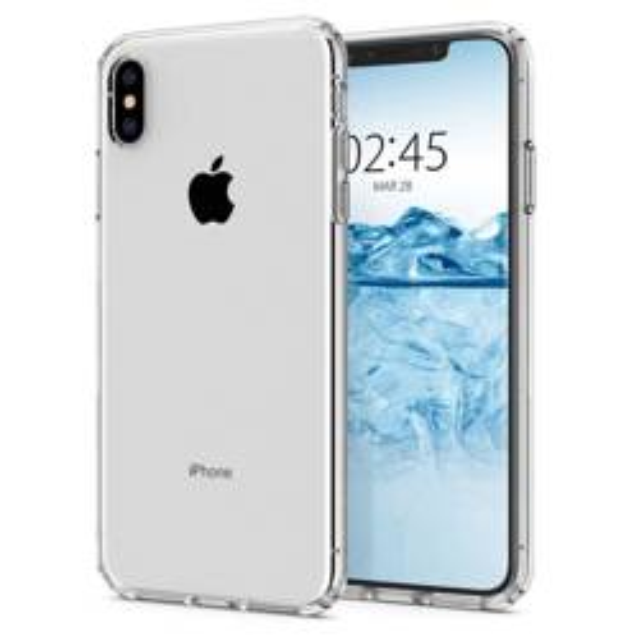 Etui SPIGEN iPhone X XS Flüssigkristallklar Przezroczyste Fall Apple