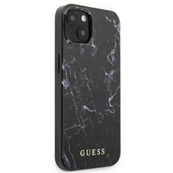 "Guess GUHCP13SPCUMABK iPhone 13 mini 5,4"" schwarz/schwarz Hardcase Marmor"