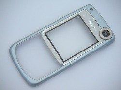 NOKIA 6680 Frontplatte Silber Grade A Gehäuse