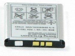 Originalbatterie SONY ERICSSON BST-36 K750i W800i W810i J230 K610i V600 W710i Z710i