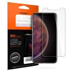 SPIGEN Ultra Hybrid Apple iPhone X Xs Klar klar + Glas SPIGEN Hülle