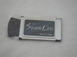 Sparklan WL-211F Pcmcia Wi-fi Karte