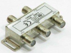 Splitter 4-WEGE 5-1000 MHz Antennensplitter