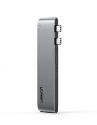 Adapter 6 w 2 UGREEN CM251 Hub USB-C dla MacBook Air / Pro