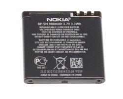 Bateria NOKIA BP-5M 5610 5700 6110 Navigator 6500 Slide 7390 8600 Luna NOKIA Oryginalna