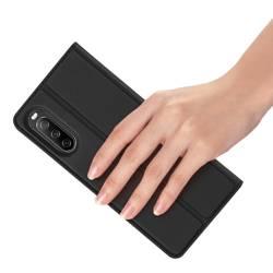 Dux Ducis Skin Pro kabura etui pokrowiec z klapką Sony Xperia 10 III czarny