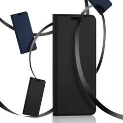 Dux Ducis Skin Pro kabura etui pokrowiec z klapką Vivo Y72 5G czarny