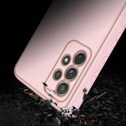 Dux Ducis Yolo eleganckie etui pokrowiec ze skóry ekologicznej Samsung Galaxy A72 4G różowy