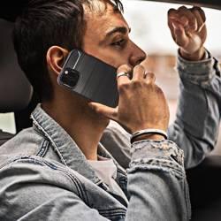 ETUI Futerał Forcell CARBON do IPHONE 13 czarny CASE