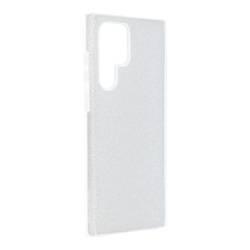 ETUI Futerał Forcell SHINING do SAMSUNG Galaxy S22 Ultra srebrny CASE