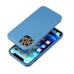 ETUI Futerał Forcell SILICONE LITE do IPHONE 13 niebieski CASE