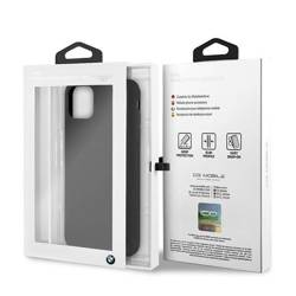 Etui BMW Apple iPhone 11 Pro Max Silicone Czarny Case