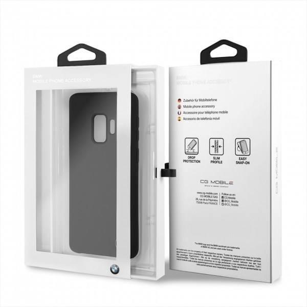 Etui BMW Samsung Galaxy S9 Silicone Czarny Case