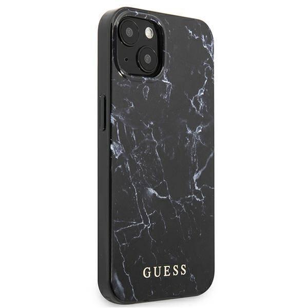 Etui GUESS Apple iPhone 13 Marble Czarny Hardcase