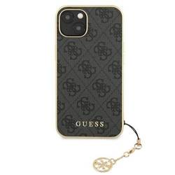 Etui GUESS Apple iPhone 13 Mini 4G Charms Collection Szary Hardcase
