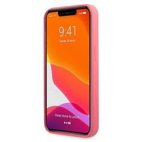 Etui KARL LAGERFELD Apple iPhone 13 Mini Silicone Karl & Choupette Różowy Hardcase