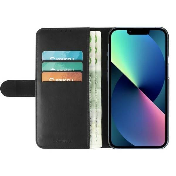 Etui KRUSELL Apple iPhone 13 Pro Max PhoneWalet Czarny Case