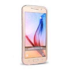 Etui LJY Sword 6 Samsung Galaxy S6 Aluminium Bumper Ramka Złoty