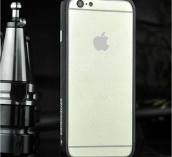 Etui LJY Sword 6 iPhone 6 6S Aluminium Bumper Ramka Niebieski