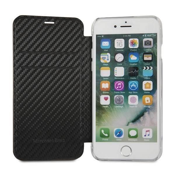 Etui MERCEDES Apple iPhone 7 8 Czarny Case