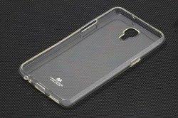 Etui MERCURY Jelly Case LG X Screen Przezroczysty Pokrowiec Silikon