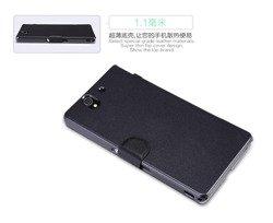 Etui NILLKIN Sony Xperia Z Fresh Czarny Case