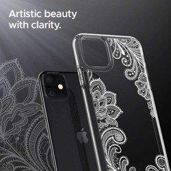 Etui SPIGEN Ciel Apple Iphone 11 White Mandala Przeźroczyste Case