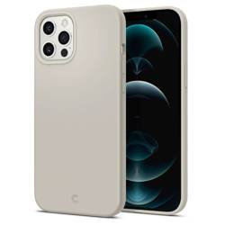 Etui SPIGEN Cyrill Silicone iPhone 12 Pro Max Stone Beżowe Case