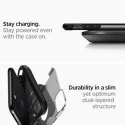 Etui SPIGEN Tough Armor Apple iPhone 11 Pro Satin Silver Srebrne Case