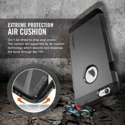 Etui SPIGEN iPhone 6 6S Tough Armor  Smooth Black Case