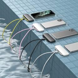 Etui Wodoodporne BASEUS Let's Go Do Smartfonów Czarny Żółty