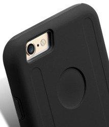 Etui iPhone 6 6S MELKCO Dual Layer Czarny Pokrowiec