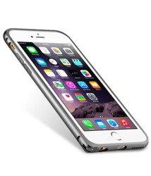 Etui iPhone 6 6S MELKCO Metal Bumper Gray