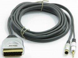 Kabel PROLINK Scart -  SVHS4P +3,5 STR 20m TCV7580