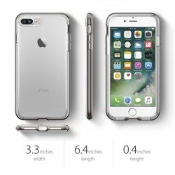 Pokrowiec Etui SPIGEN NEO Hybrid Crystal Apple iPhone 7 Plus Gunmetal