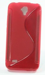Pokrowiec S-Line Huawei Ascend Y560 Y5 Czerwony Etui Silikon