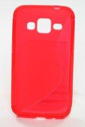 Pokrowiec S-Line Samsung Galaxy Core Prime Czerwony Etui Silikon