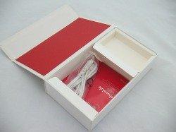 Pudełko LG KG800  CD, Kabel Białe