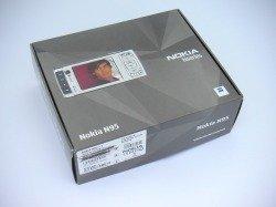 Pudełko NOKIA N95 CD Kable Instrukcja Sterowniki