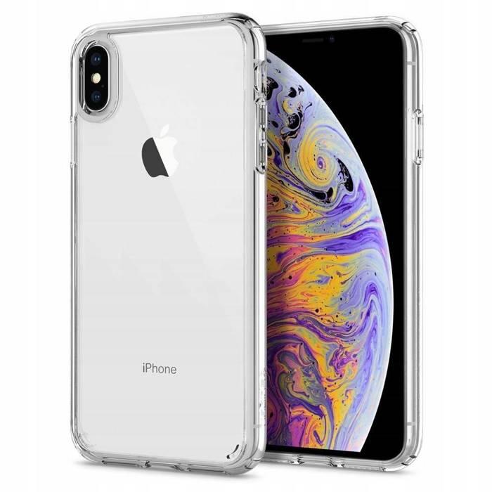 Spigen iPhone X XS Etui Ultra Hybrid Clear Przezroczysty Case Apple
