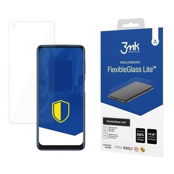 Szkło Hybrydowe 3MK Motorola Moto G Power 2021 FlexibleGlass Lite